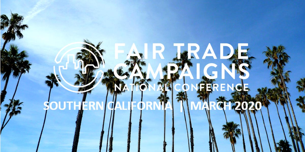 Fair Trade Campaigns 2019 National Conference