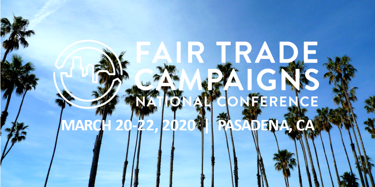 Fair Trade Campaigns 2020 National Conference